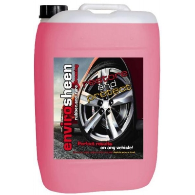 25 Litre Envirosheen. Environmentally Friendly Rubber Tyre Dressing title=