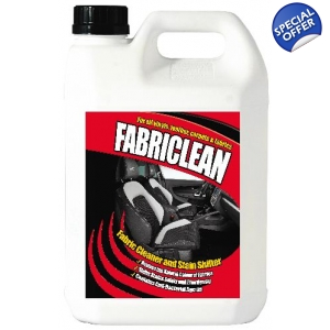 5 Litre Fabriclean Upholstery Leather ..