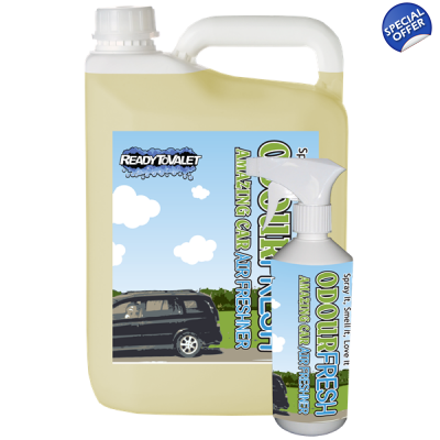 Lemon Liquid Spray Air Freshener, OdourFresh title=