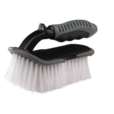 Pro Soft Bristle Upholstery Brush With Handle title=