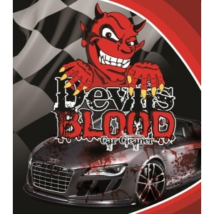 1 Litre Cherry Devils Blood Car Paint, Glass And Wheel Cleaner Iron Remover X