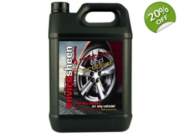 5 Litre Envirosheen. Environmentally Friendly Rubber and Tyre Dressing