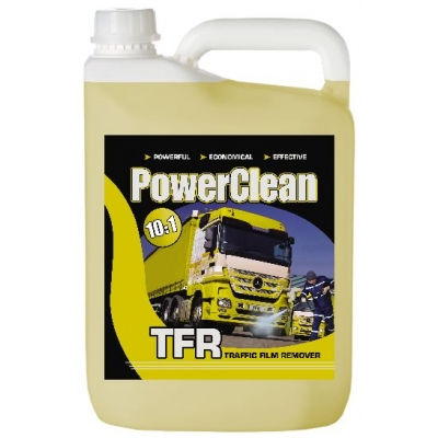 5 Litre Powerclean TFR - 10:1 Concentrate Traffic Film Remover title=