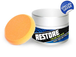 125G Restore Tyre And Trim Paste - Specialist De..