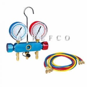R410a-R22 Air Conditioning & Refrigeration Gauges Manifold