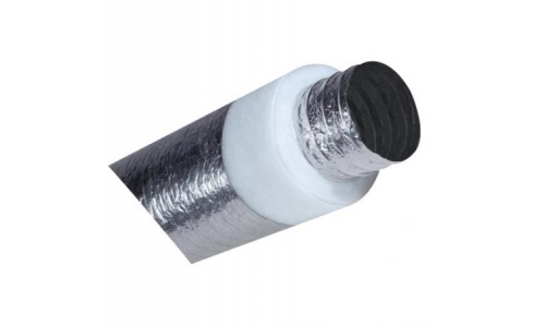"R 1.5 - 10"" / 250mm Flexible insulated Fan Duct -Ducting - Flex"