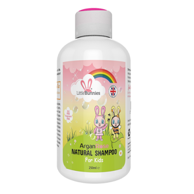 Daisy & Honey Bee's ArganRose natural kids shampoo 250ml