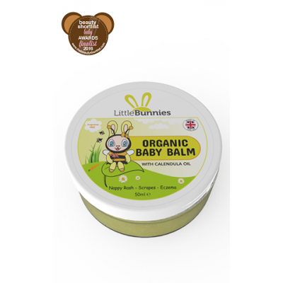 Honey Bee's Organic Baby Balm 50ml