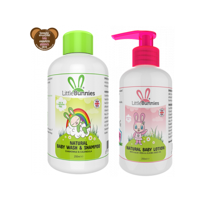 Baby Wash and lotion Set