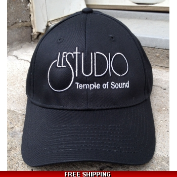 Le Studio Black Baseball Hat..