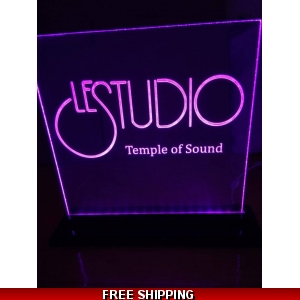 Le Studio Led Light Sign 12X12 Inches TOS