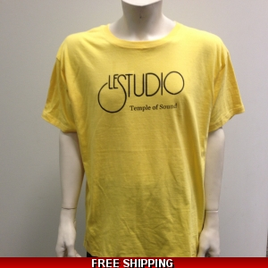 Le Studio Yellow shirt Black Front Logo N/C