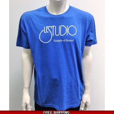 Le Studio Royal Blue shirt White Front Logo N/C