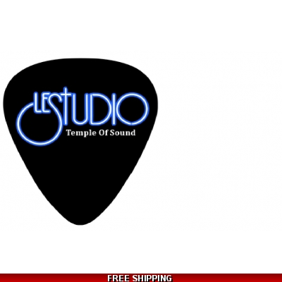 Le Studio Guitar Picks Black white & Blue Logo TOS