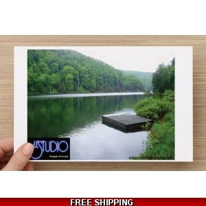 Le Studio Post Card Lake Perry
