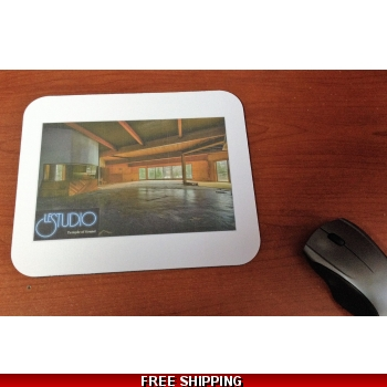 Le Studio White Mouse Pad Re..