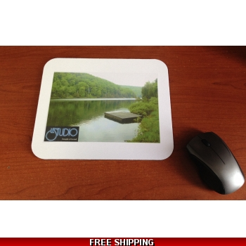 Le Studio White Mouse Pad  L..
