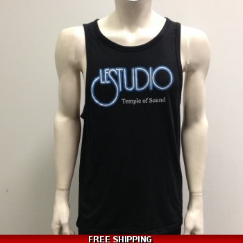 Le Studio Men Black Tank Top..