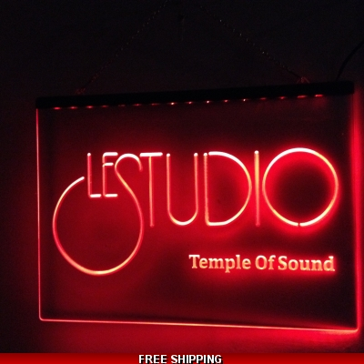 Le Studio Led Light Sign 16X12 Inches TOS