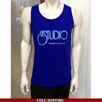 Le Studio Men Blue Tank Top ..
