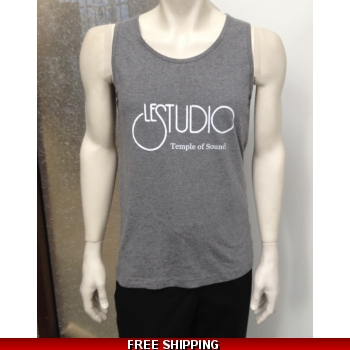Le Studio Men Dark Grey Tank..