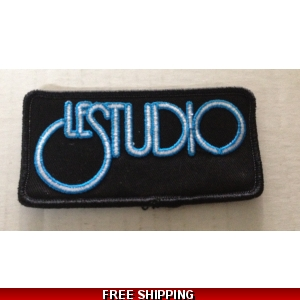Le Studio Embroidered Patches W & B  B Rim Front Logo