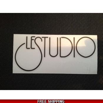 Le Studio Black Decals ..