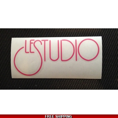 Le Studio Hot pink Decals 5 X 2 1/2