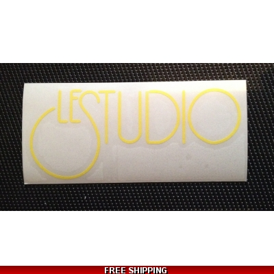 Le Studio Yellow Decals 5 X 2 1/2