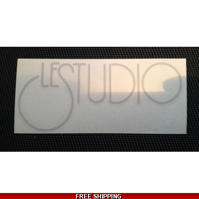 Le Studio Light Grey Decals 5 X 2 1/2