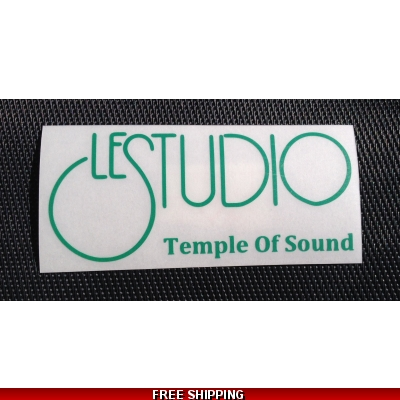 Le Studio Green Decals 5 X 2 1/2 TOS