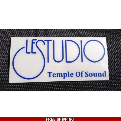 Le Studio Blue Decals 5 X 2 1/2 TOS