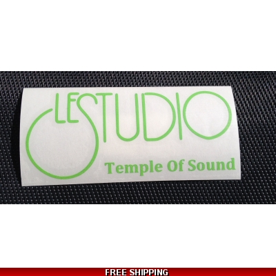 Le Studio Lime Decals 5 X 2 1/2 TOS
