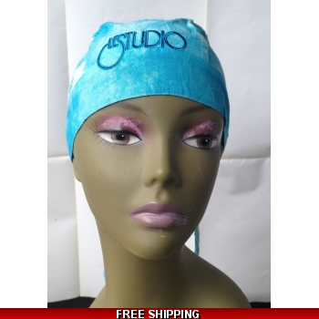 Wash Blue Bandana Hat B..