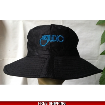 Black Fisherman Hat Bla..
