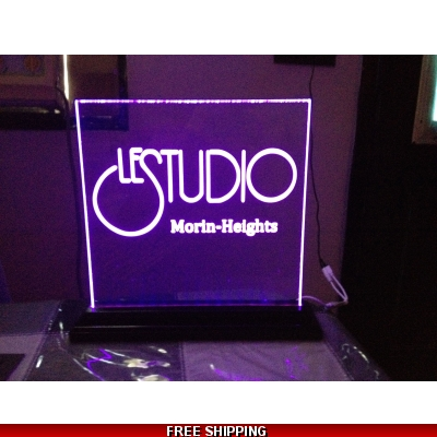 Le Studio Led Light Sign 12X12 Inches M/H