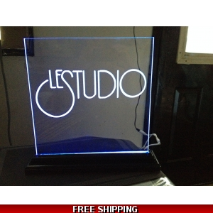 Le Studio Led Light Sign 16X16 Inches