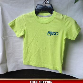 Lime Green Kid Shirt Black &..
