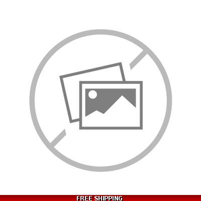 Girlie Red Round-Neck White & Blue Front Logo TOS