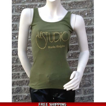 Woman Army Green T..