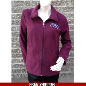 Woman Burgundy Spring Jacket M/H