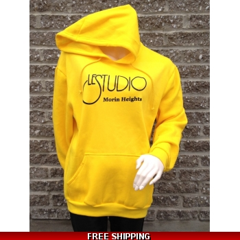 Yellow Hoodie Black Fro..