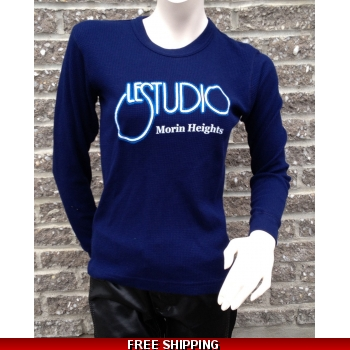 Girlie Navy Blue L..