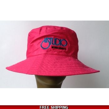 Pink Beach Hat Bla..