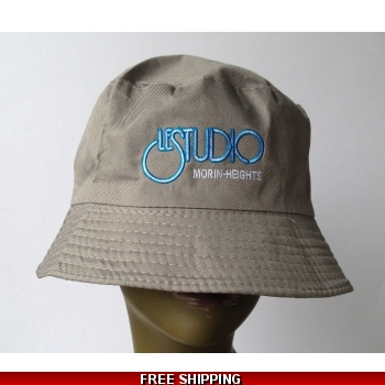 Grey Bucket Beach Hat W..