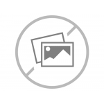 Grey Zipper Hoodie Black & Blue Embroid Front Logo M/H