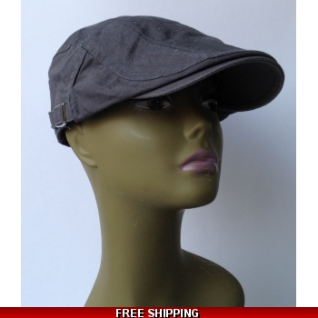Dark Grey Beret White &..