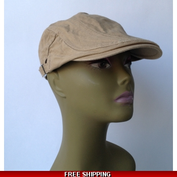 Dark Beige Beret Black ..