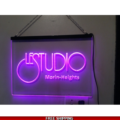 Le Studio Led Light Sign 16X12 Inches Morin-Heights