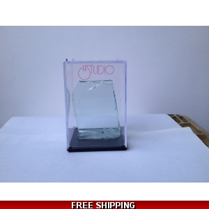 Cube Display Box with Piece of Glass from Le Studio
